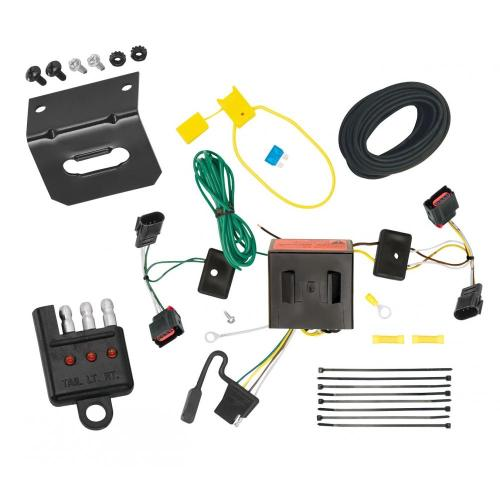 small resolution of trailer wiring and bracket and light tester for 08 17 jeep patriot 08 10 chrysler town
