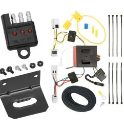 trailer wiring and bracket and light tester for 12 18 nissan nv1500 nv2500 nv3500 all styles  [ 1000 x 1000 Pixel ]