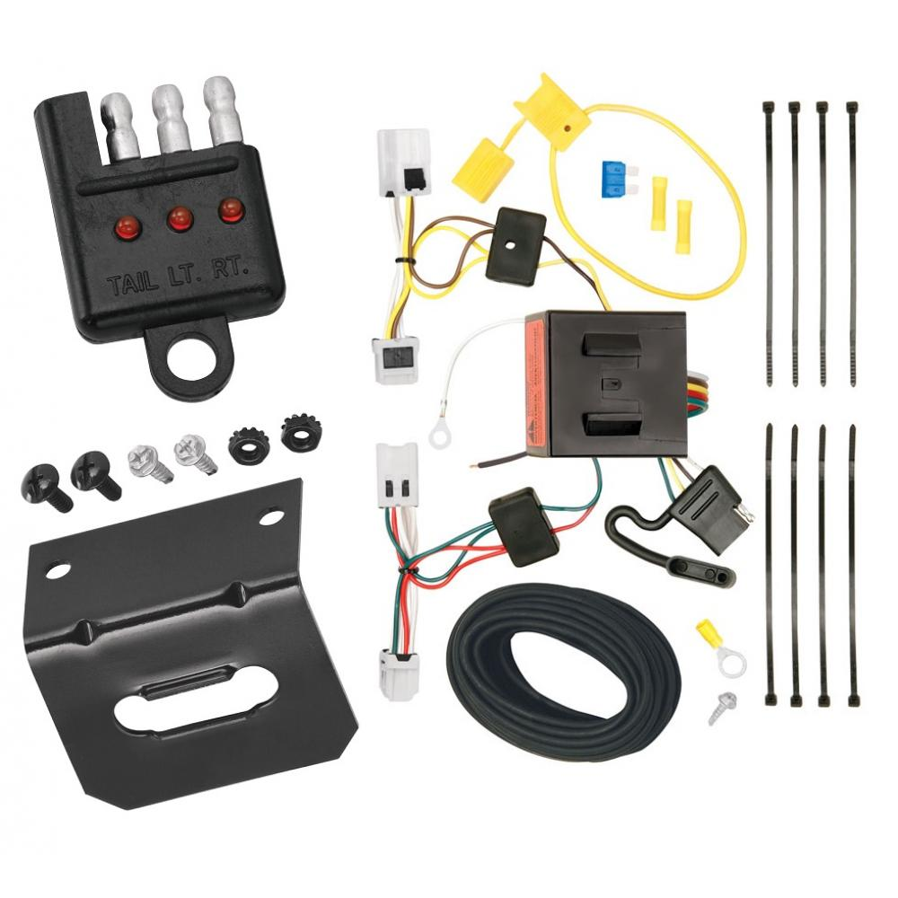 hight resolution of trailer wiring and bracket and light tester for 12 18 nissan nv1500 nv2500 nv3500 all styles