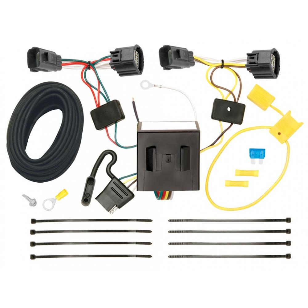 hight resolution of trailer wiring harness kit for 07 11 dodge nitro 08 12 jeep liberty all styles