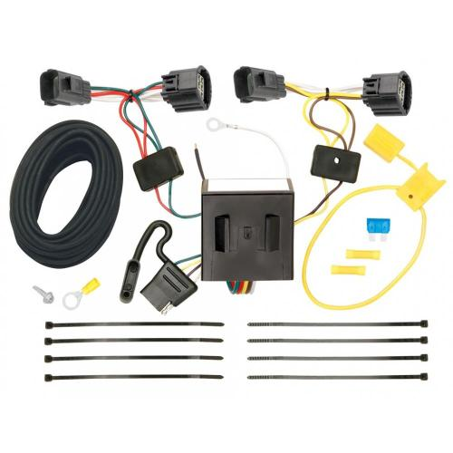 small resolution of trailer wiring harness kit for 07 11 dodge nitro 08 12 jeep liberty all styles