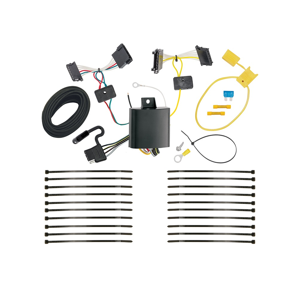 Trailer Wiring Harness Kit For 14-18 Mercedes-Benz