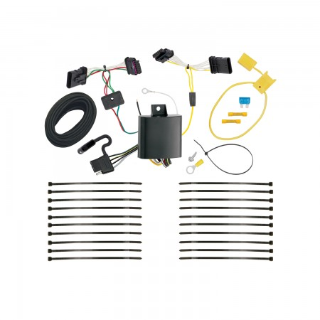 Trailer Wiring Harness Kit For 16-18 FIAT 500X All Styles