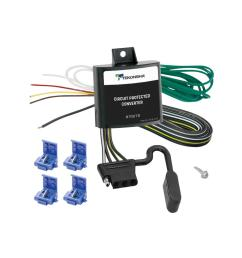 84 90 jeep cherokee wagoneer trailer wiring light kit harness kit plug splice  [ 1000 x 1000 Pixel ]