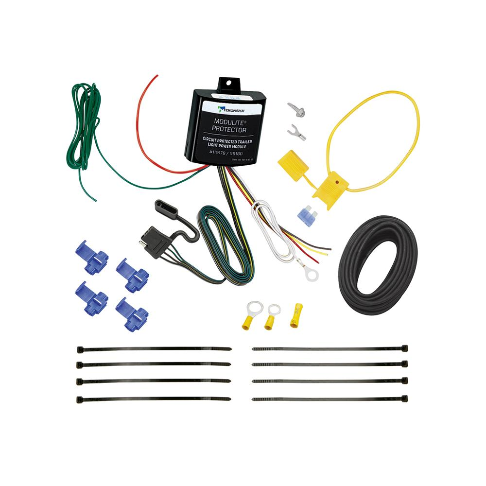 hight resolution of 94 96 cadillac deville trailer wiring light kit harness kit plug splice