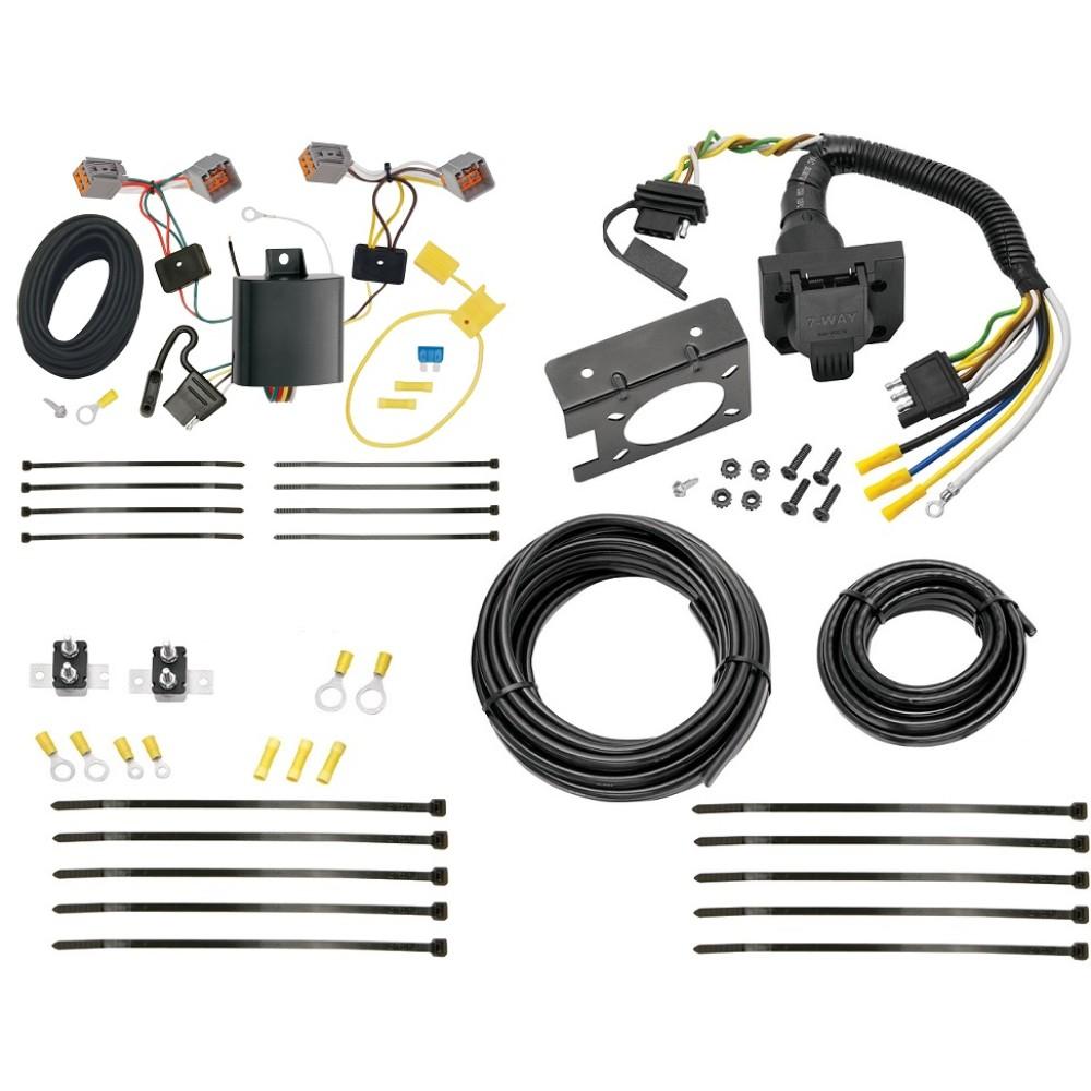 medium resolution of 15 17 volvo v60 7 way rv trailer wiring plug prong pin brake control ready