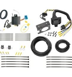 18 19 honda odyssey 7 way rv trailer wiring plug prong pin brake honda odyssey trailer wiring harness odyssey trailer wiring [ 1000 x 1000 Pixel ]