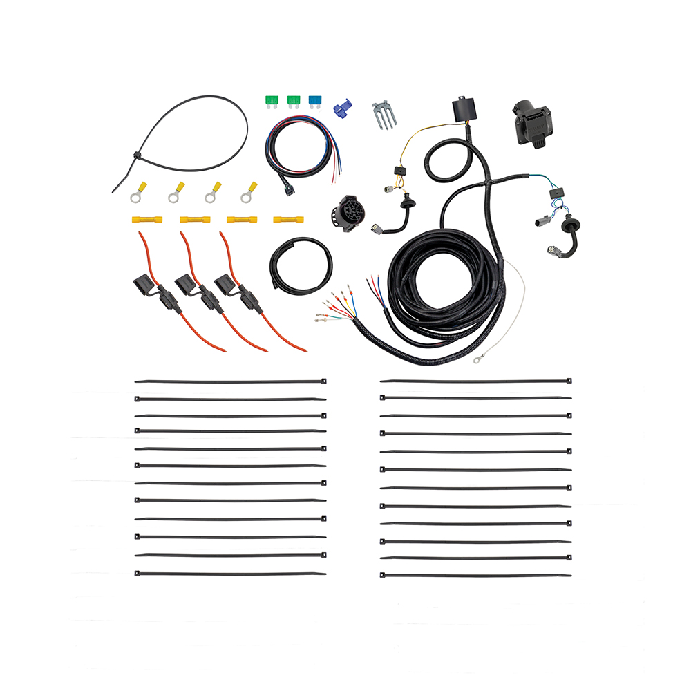 Tow Harness : 15-20 Ford Transit 350 Trailer Wiring 7-Way