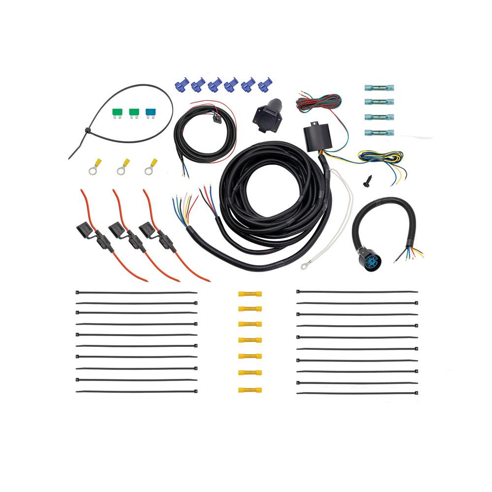 Tow Harness : Tow Harness, 7-Way Complete Kit, Including