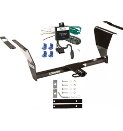 trailer tow hitch for 91 02 saturn sc1 sc2 sl sl1 sl2 sw1 sw2 trailer hitch tow receiver w wiring harness kit [ 1000 x 1000 Pixel ]