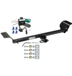 trailer tow hitch for 01 06 chrysler sebring trailer hitch tow receiver w wiring harness kit [ 1000 x 1000 Pixel ]
