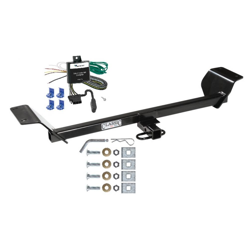 hight resolution of trailer tow hitch for 01 06 chrysler sebring trailer hitch tow receiver w wiring harness kit