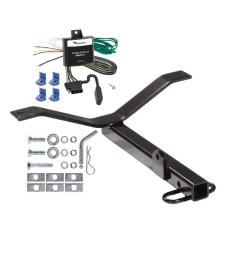 trailer tow hitch for 02 06 acura rsx honda civic si trailer hitch tow receiver w wiring harness kit [ 1000 x 1000 Pixel ]