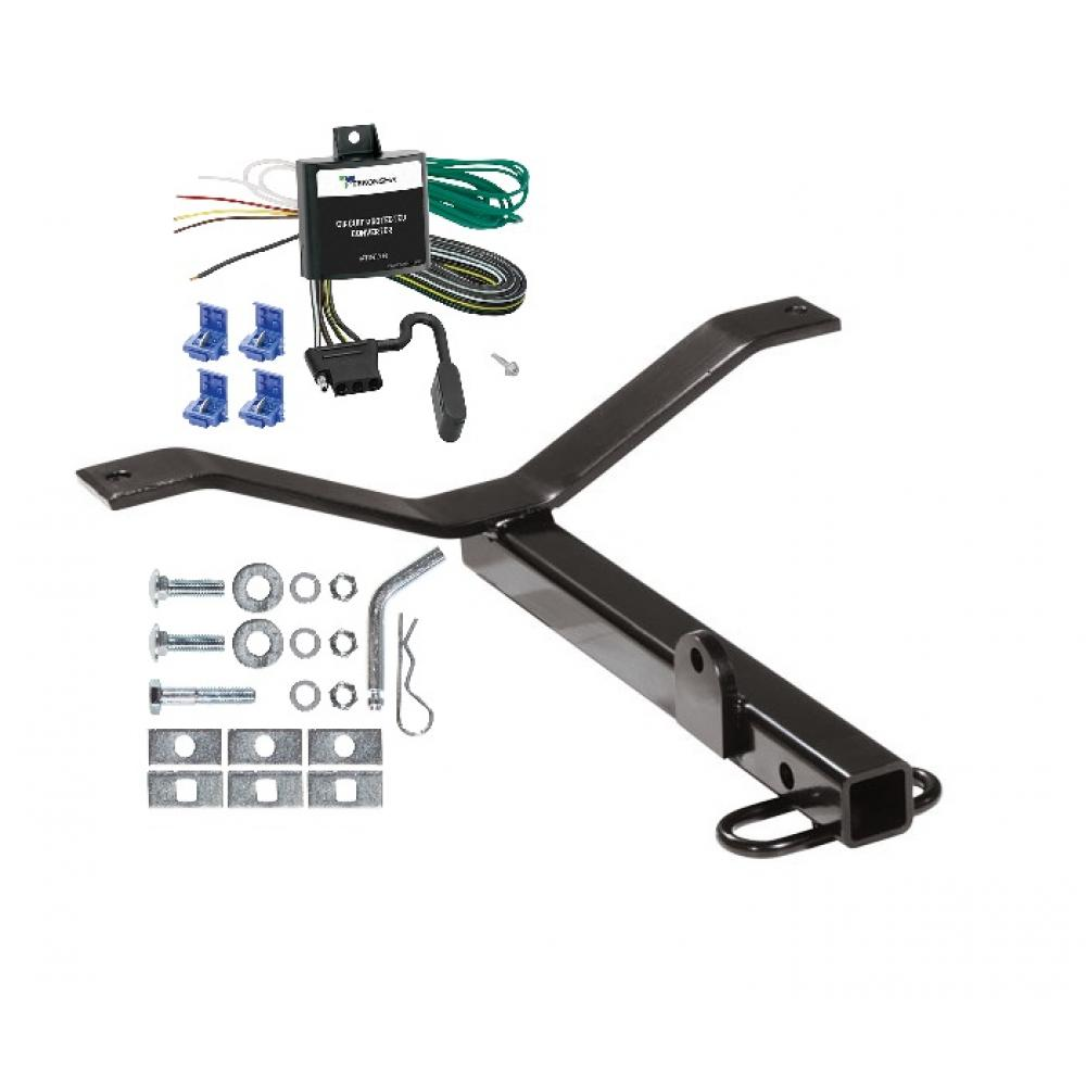 hight resolution of trailer tow hitch for 02 06 acura rsx honda civic si trailer hitch tow receiver w wiring harness kit