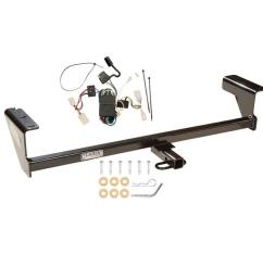 trailer tow hitch for 03 06 mitsubishi outlander trailer hitch tow receiver w wiring harness kit [ 1000 x 1000 Pixel ]