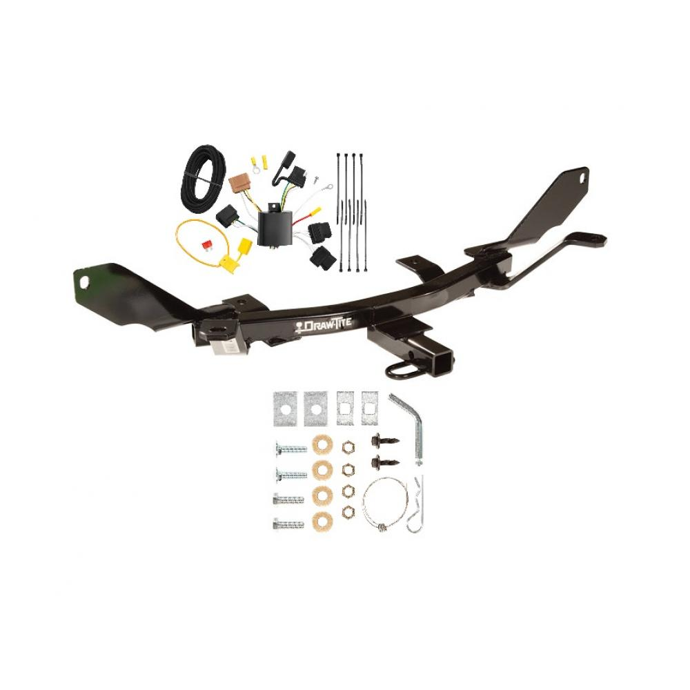 hight resolution of trailer tow hitch for 06 09 ford fusion trailer hitch tow receiver w wiring harness kit