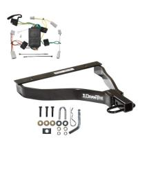 trailer tow hitch for 07 08 honda fit trailer hitch tow receiver w wiring harness kit [ 1000 x 1000 Pixel ]