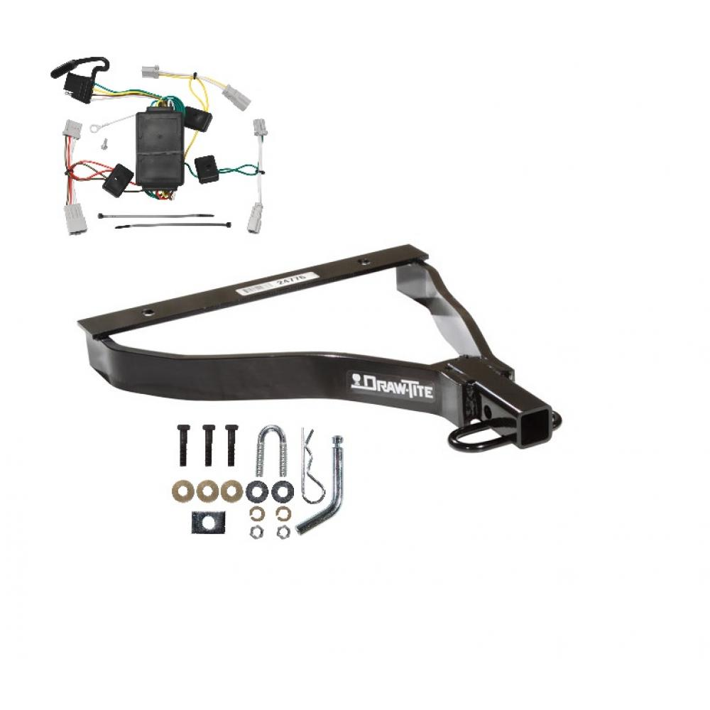 hight resolution of trailer tow hitch for 07 08 honda fit trailer hitch tow receiver w wiring harness kit