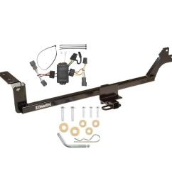trailer tow hitch for 07 10 kia rondo 11 12 canada only tow receiver w wiring harness kit [ 1000 x 1000 Pixel ]