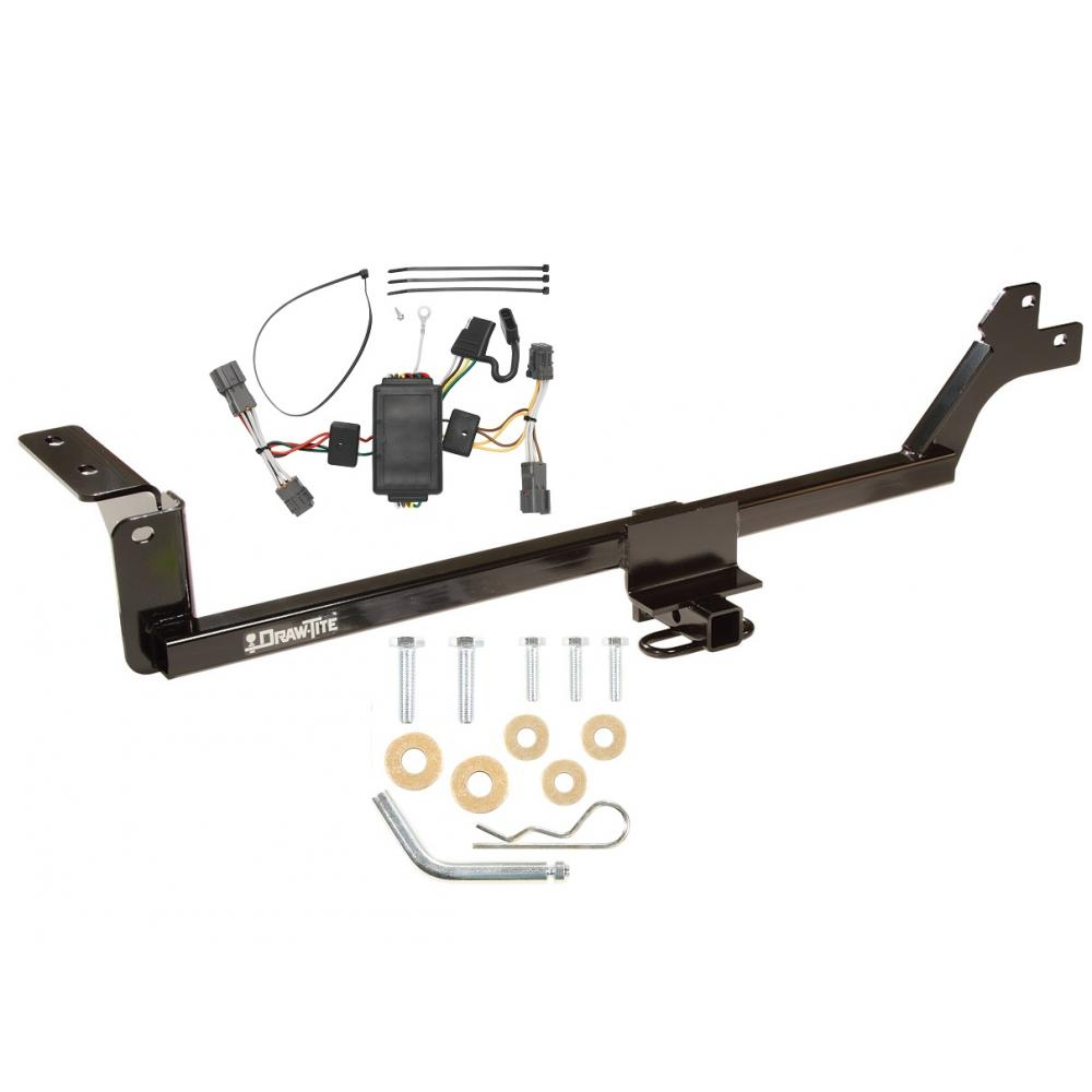 hight resolution of trailer tow hitch for 07 10 kia rondo 11 12 canada only tow receiver w wiring harness kit