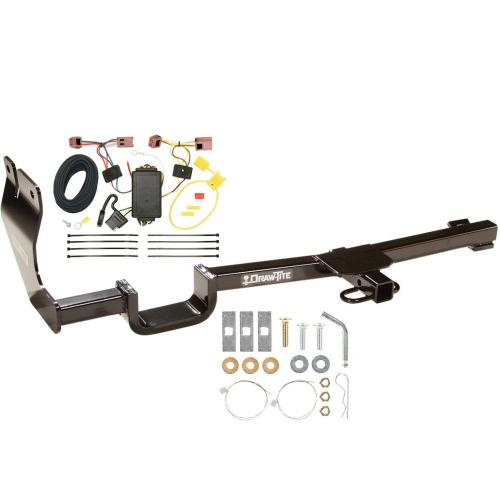 small resolution of trailer tow hitch for 07 12 nissan versa hatchback tow receiver w wiring harness kit