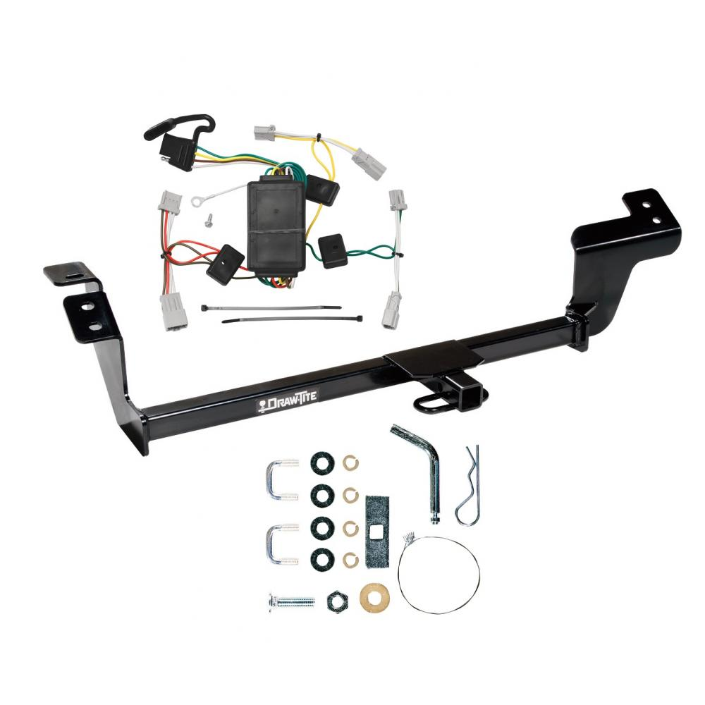 hight resolution of trailer tow hitch for 07 12 mitsubishi galant trailer hitch tow receiver w wiring harness kit
