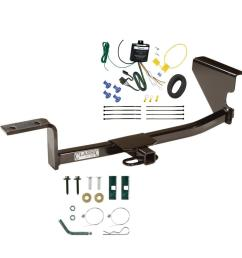 trailer tow hitch for 09 12 volkswagen cc trailer hitch tow receiver w wiring harness kit [ 1000 x 1000 Pixel ]