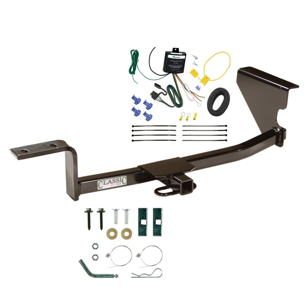 hight resolution of trailer tow hitch for 09 12 volkswagen cc trailer hitch tow receiver w wiring harness kit