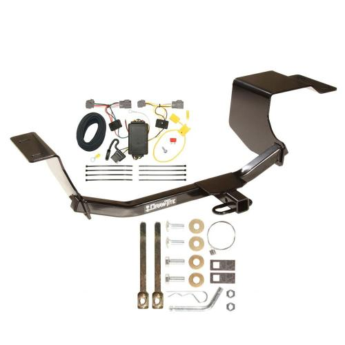 small resolution of trailer hitch tow receiver w wiring harness kit for 11 13 ford fiesta hatchback