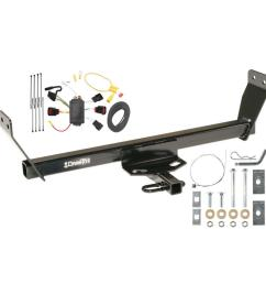 trailer tow hitch for 08 10 dodge avenger trailer hitch tow receiver w wiring harness kit [ 1000 x 1000 Pixel ]