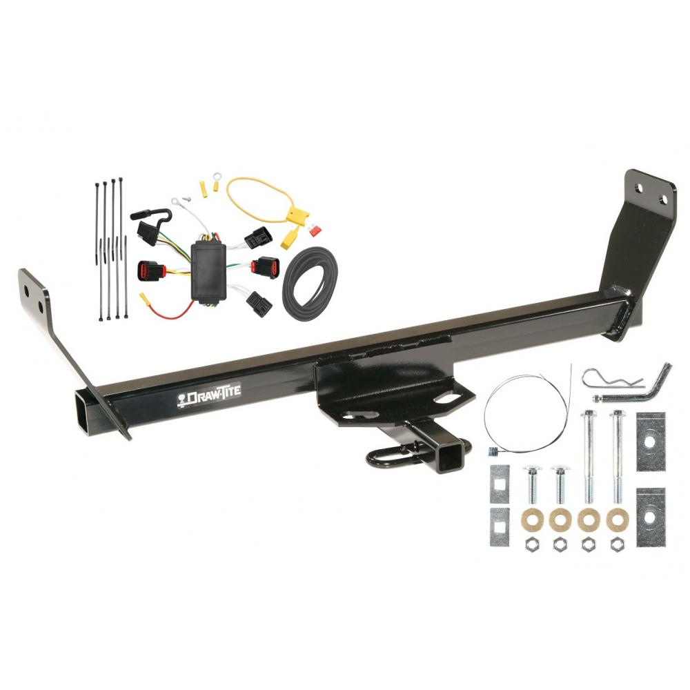 hight resolution of trailer tow hitch for 08 10 dodge avenger trailer hitch tow receiver w wiring harness kit