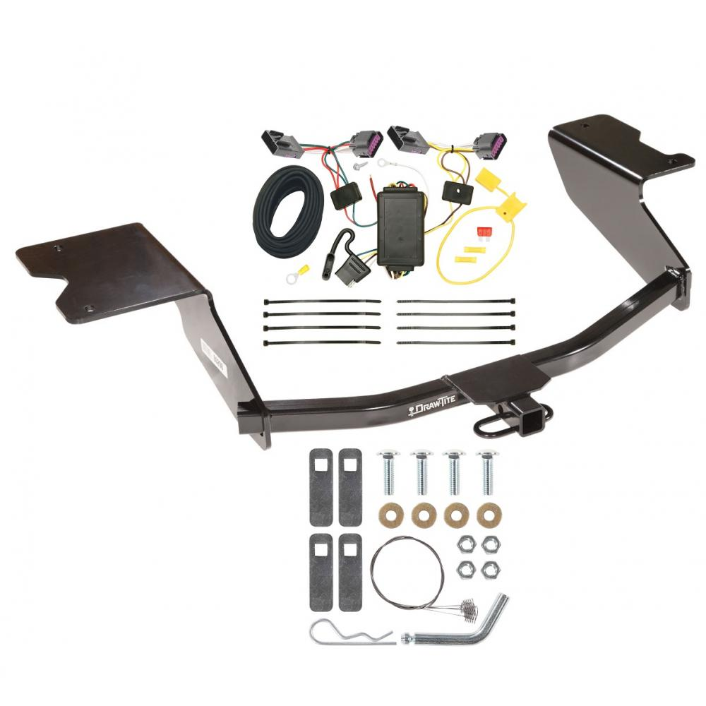hight resolution of trailer tow hitch for 12 13 chevy orlando canada only trailer hitch tow receiver w wiring