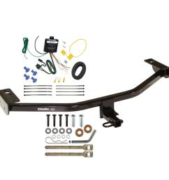 trailer tow hitch for 13 18 ford c max trailer hitch tow receiver w wiring harness kit [ 1000 x 1000 Pixel ]