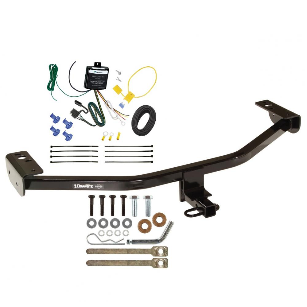 hight resolution of trailer tow hitch for 13 18 ford c max trailer hitch tow receiver w wiring harness kit