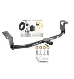 trailer tow hitch for 09 13 toyota corolla trailer hitch tow receiver w wiring harness kit [ 1000 x 1000 Pixel ]