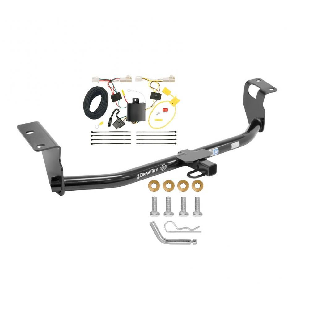 hight resolution of trailer tow hitch for 09 13 toyota corolla trailer hitch tow receiver w wiring harness kit