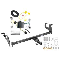 trailer tow hitch for 15 17 chrysler 200 sedan trailer hitch tow receiver w wiring harness kit [ 1000 x 1000 Pixel ]