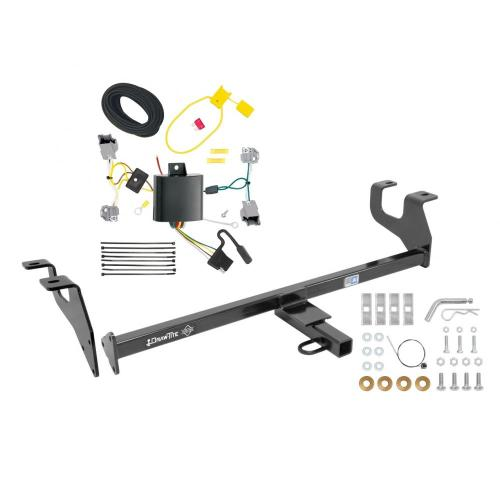 small resolution of trailer tow hitch for 15 17 chrysler 200 sedan trailer hitch tow receiver w wiring harness kit