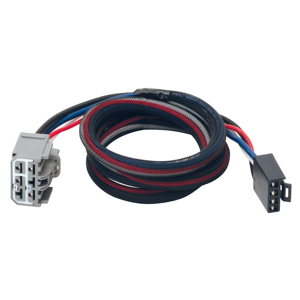 hight resolution of 07 18 chevy traverse gmc acadia buick enclave trailer brake control wiring 2 plug adapter connector