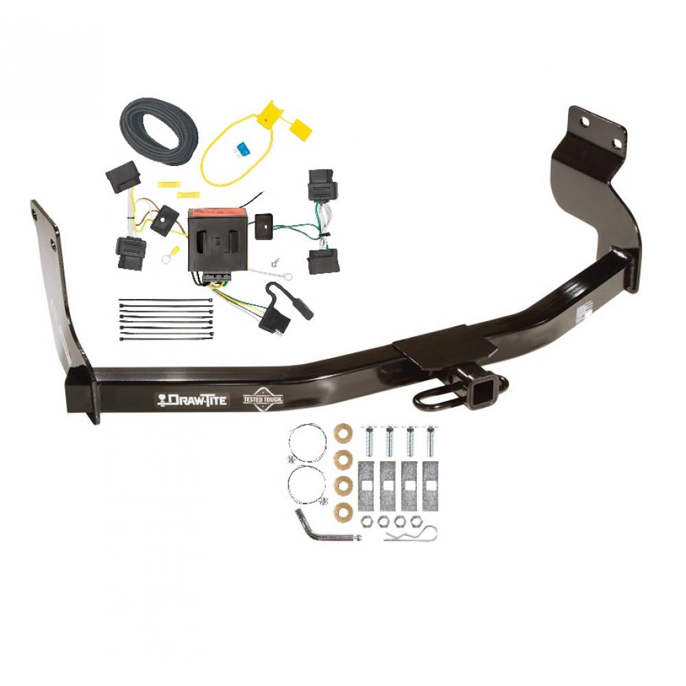 medium resolution of trailer tow hitch w wiring kit for 08 12 ford escape mazda tributemazda tribute trailer wiring