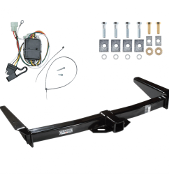 trailer tow hitch for 96 97 toyota land cruiser lexus lx450 w wiring harness kit [ 1000 x 1000 Pixel ]