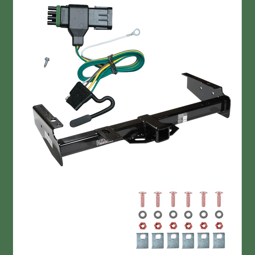hight resolution of trailer tow hitch for 92 00 chevy gmc suburban c k blazer tahoe yukon w wiring harness kit