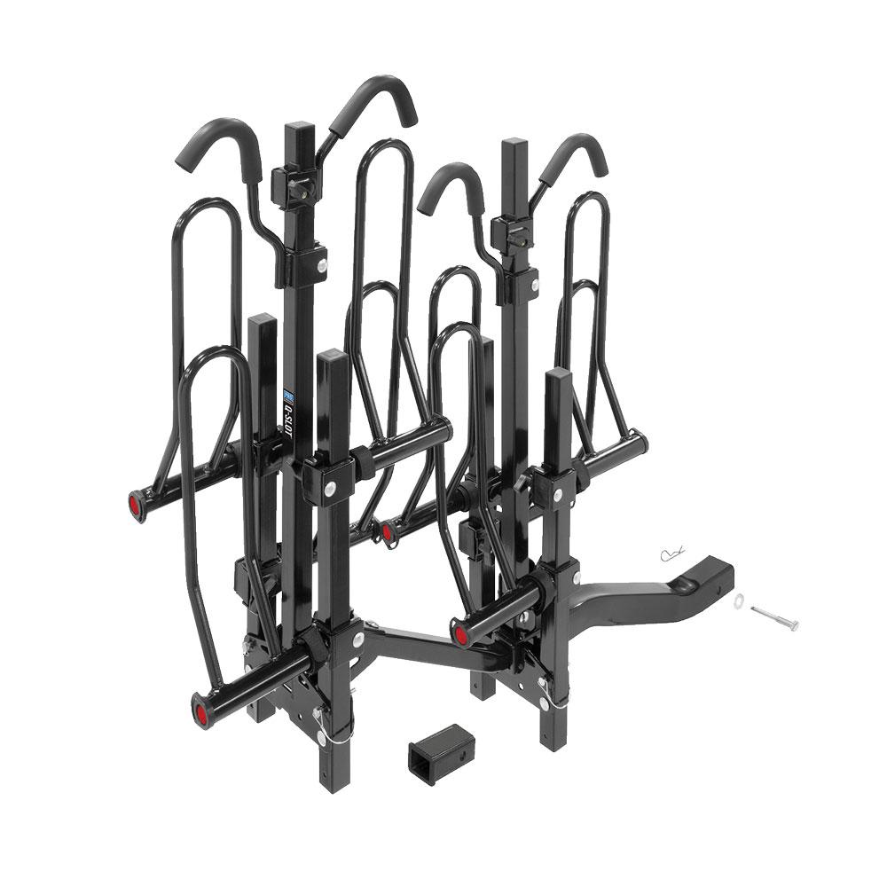 Pro Series Q-Slot 4 Bike Rack Carrier Rear Hitch Mount 2