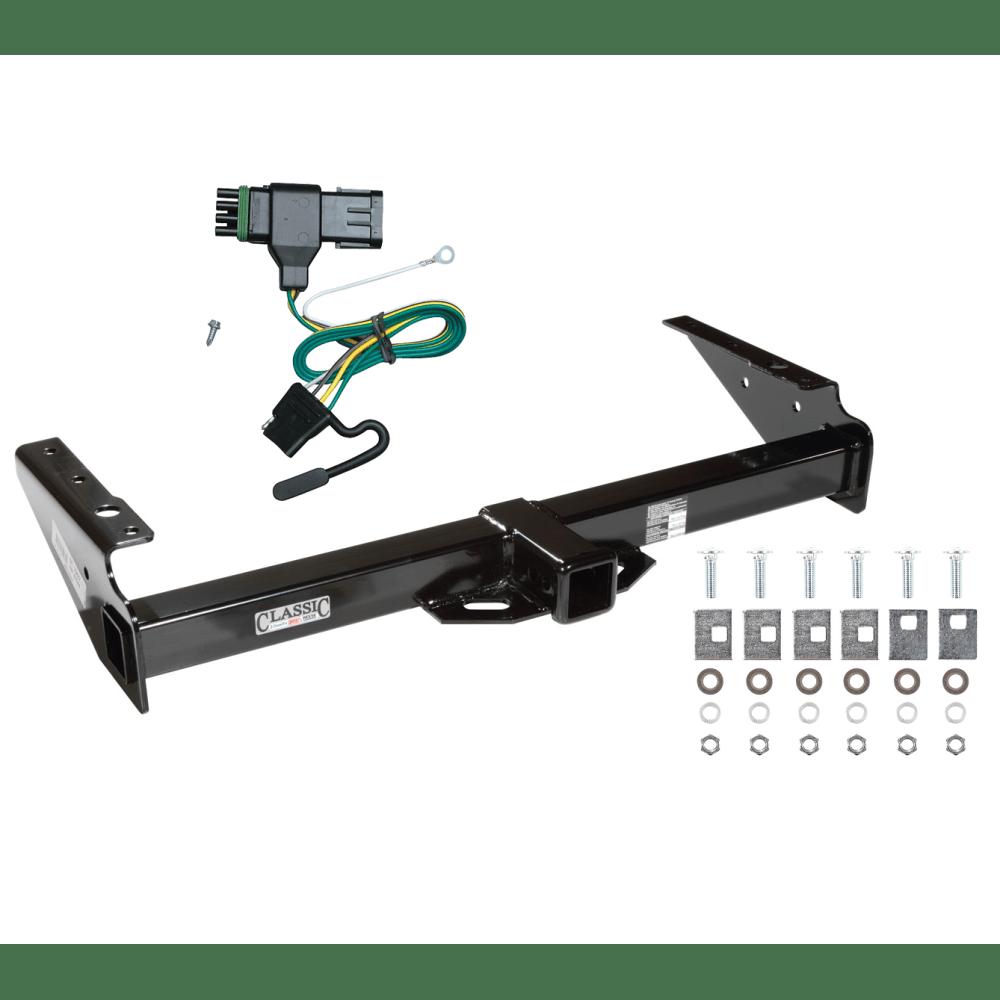 medium resolution of trailer tow hitch for 92 00 chevy gmc yukon suburban tahoe escalade w wiring harness kit