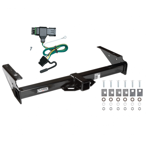 small resolution of trailer tow hitch for 92 00 chevy gmc yukon suburban tahoe escalade w wiring harness kit