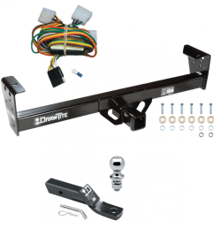 trailer tow hitch for 92 97 isuzu rodeo 94 97 honda passport complete package w wiring  [ 1000 x 1000 Pixel ]