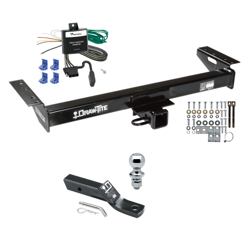 small resolution of trailer tow hitch for 91 96 jeep cherokee complete package w wiring and 1 7 8 ball