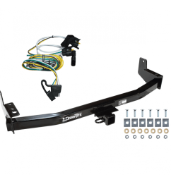 trailer tow hitch for 97 02 ford expedition lincoln navigator w wiring harness kit [ 1000 x 1000 Pixel ]