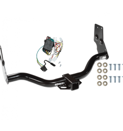 trailer tow hitch for 96 04 nissan pathfinder 97 03 infiniti qx4 w wiring harness kit [ 1000 x 1000 Pixel ]