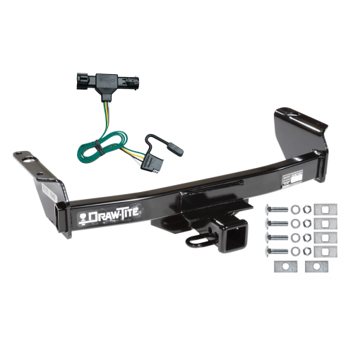 small resolution of trailer tow hitch for 86 92 ford ranger except gt w wiring harness kit1992 ford ranger
